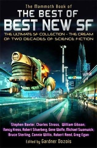 book cover of The Mammoth Book of the Best of Best New SF: The Ultimate SF Collection