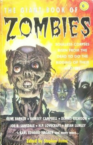 book cover of The Giant Book Of Zombies