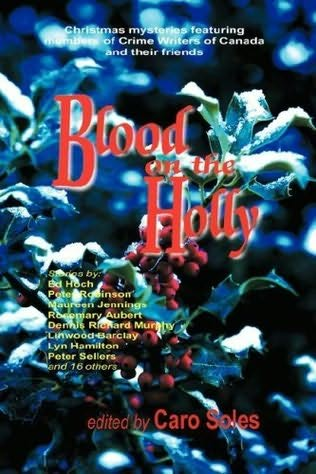 book cover of Blood on the Holly
