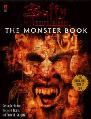 book cover of The Monster Book