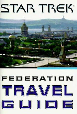 book cover of Star Trek Federation Guide