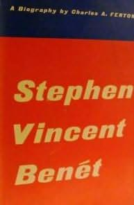 book cover of Stephen Vincent Benet