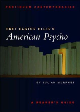 book cover of Bret Easton Ellis\'s American Psycho