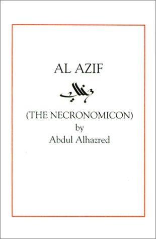book cover of Al Azif