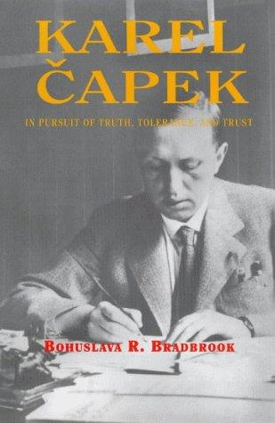 book cover of Karel Capek