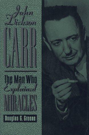 book cover of John Dickson Carr