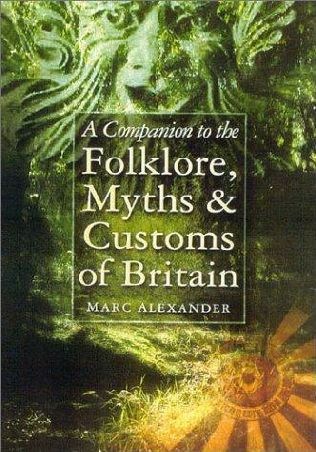 book cover of Companion to the Folklore, Myths and Customs of Britain