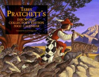 book cover of The Discworld Calendar