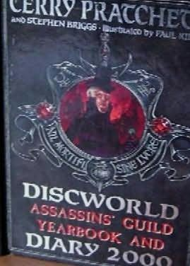 book cover of Discworld Assassins\' Guild Yearbook and Diary 2000