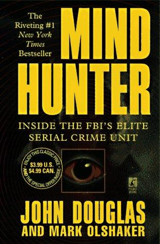 book cover of Mindhunter