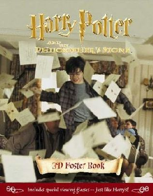 harry potter books cover. ook cover of Harry Potter 3-D