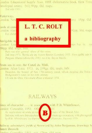 book cover of L.T.C. Rolt