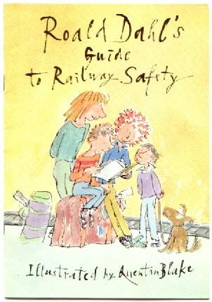 book cover of Roald Dahl\'s Guide to Railway Safety