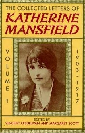 book cover of Letters of Katherine Mansfield