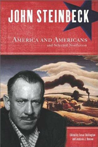 america and americans by john steinbeck essay Category: america and americans title: the american dream in john steinbeck's essay, america and americans.