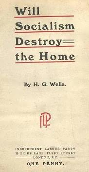 book cover of Will Socialism Destroy the Home?