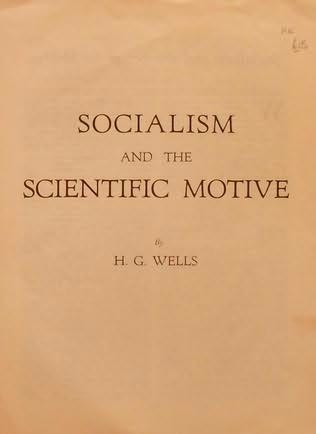 book cover of Socialism and the Scientific Motive