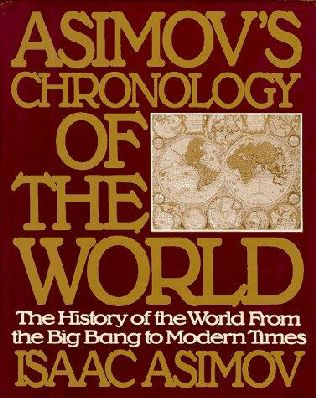 book cover of Asimov\'s Chronology of the World