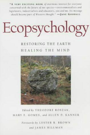 book cover of Ecopsychology