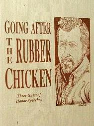 book cover of Going After The Rubber Chicken