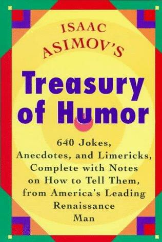book cover of Isaac Asimov\'s Treasury of Humor