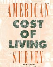 book cover of American Cost of Living Survey