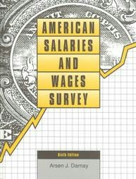 book cover of American Salaries and Wages Survey