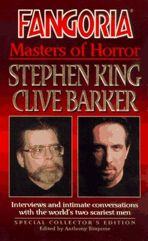 book cover of Fangiora Masters of Horror