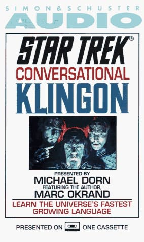 book cover of Conversational Klingon