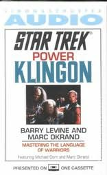 book cover of Star Trek : Power Klingon : Mastering the Language of Warriors