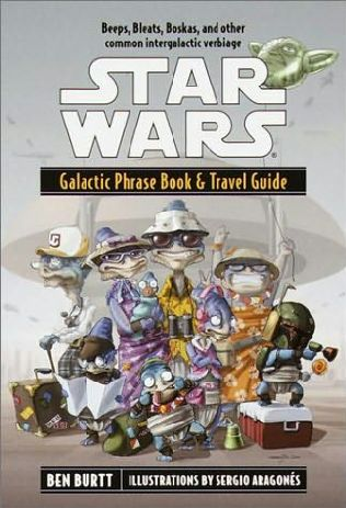 book cover of Galactic Phrase Book and Travel Guide