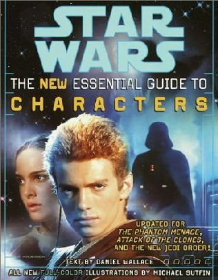 book cover of The New Essential Guide to Characters