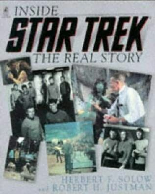 book cover of Inside Star Trek - The Real Story