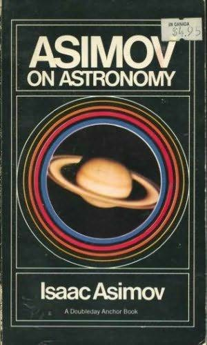book cover of Asimov on Astronomy