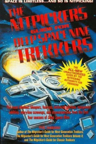 book cover of Nitpickers Guide for Deep Space Nine Trekkers