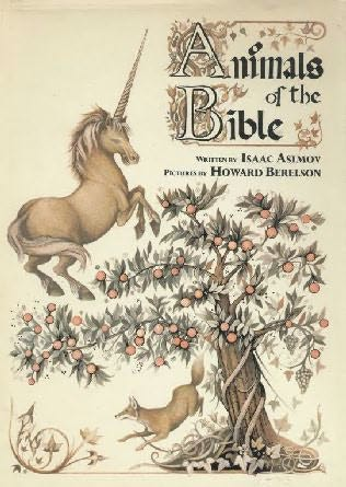 book cover of Animals of the Bible