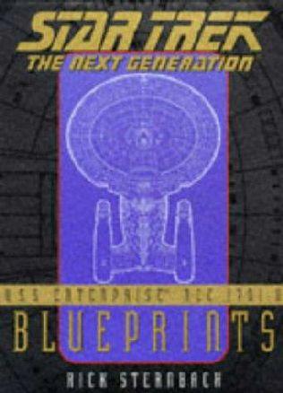 book cover of Star Trek the Next Generation U.S.S. Enterprise NCC-1701-D Blueprints