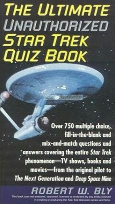 book cover of The Ultimate Star Trek Quiz Book