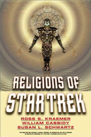 book cover of Religions of Star Trek