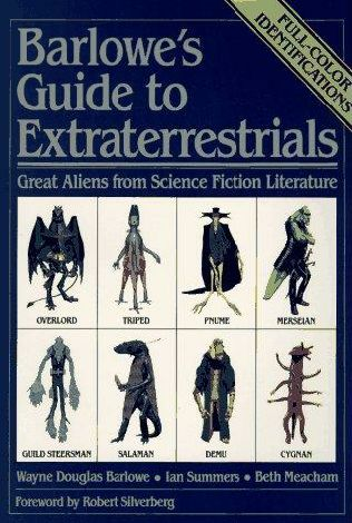 book cover of Barlowe\'s Guide to Extraterrestrials