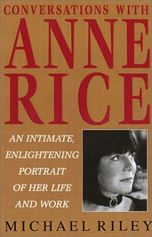 book cover of Conversations with Anne Rice
