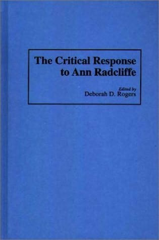 book cover of The Critical Response to Ann Radcliffe
