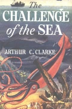 book cover of The Challenge of the Sea