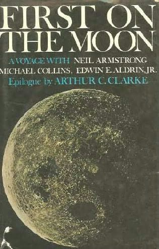 book cover of First on the Moon
