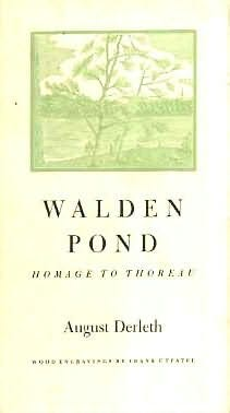 book cover of Walden Pond