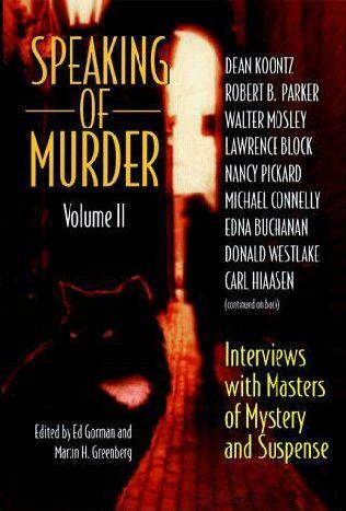 book cover of Speaking of Murder, Volume II