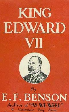 book cover of King Edward VII