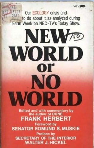 book cover of New World or No World