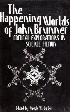 book cover of The Happening Worlds of John Brunner