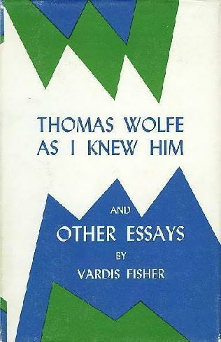 book cover of Thomas Wolfe as I Knew Him